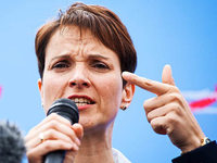 Frauke Petry: Eine Parteivorsitzende unter Druck