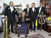 Gl�ckw�nsche zum 101. Geburtstag