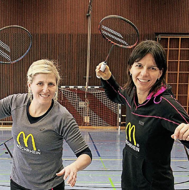 Charmaine Reid (links) und Nicole Grether  | Foto: Boris Burkhardt