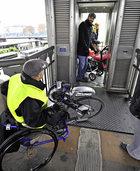 In diesem Jahr sollen an 94 Stellen in der Stadt Mobilit�tsbarrieren entfernt werden
