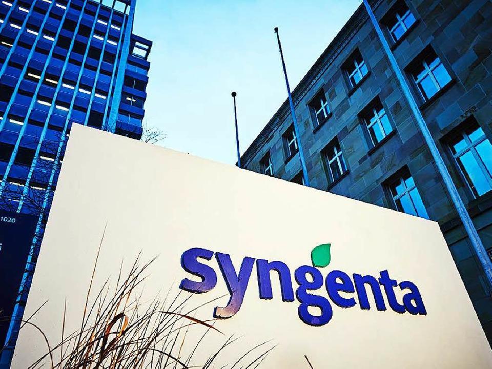 Syngenta beschäftigt in der Region run...n,  1750 am Hauptsitz in Basel (Foto).  | Foto: ZVG