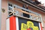 Fotos: Narren st�rmen die Rath�user in Breisach und Vogtsburg