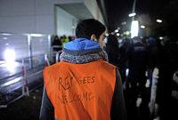 Wenn freiwillige Helfer in Berlin bis zur Ersch�pfung helfen