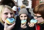 Fotos: Die BZ feiert 50.000 Facebook-Fans auf dem Rathausplatz in Freiburg