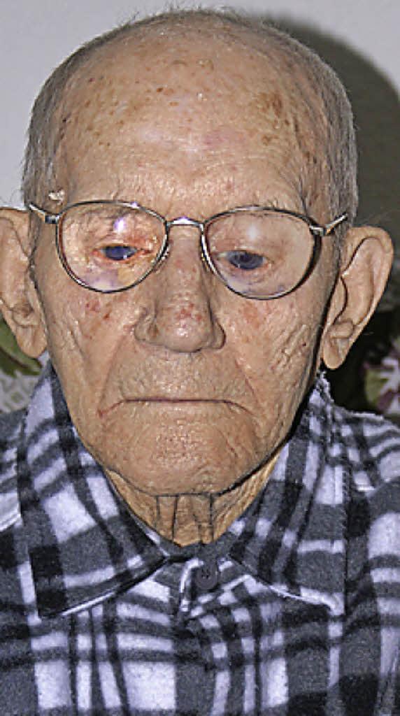 <b>Heinrich Kraus</b>: Der älteste Laufenburger wird 103 Jahre alt - 117168028