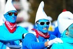 Fotos: So lustig war der gescheiterte Schlumpf-Weltrekordversuch in Waldshut