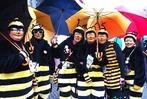 Fotos: Kanderner Narren stehen im Regen