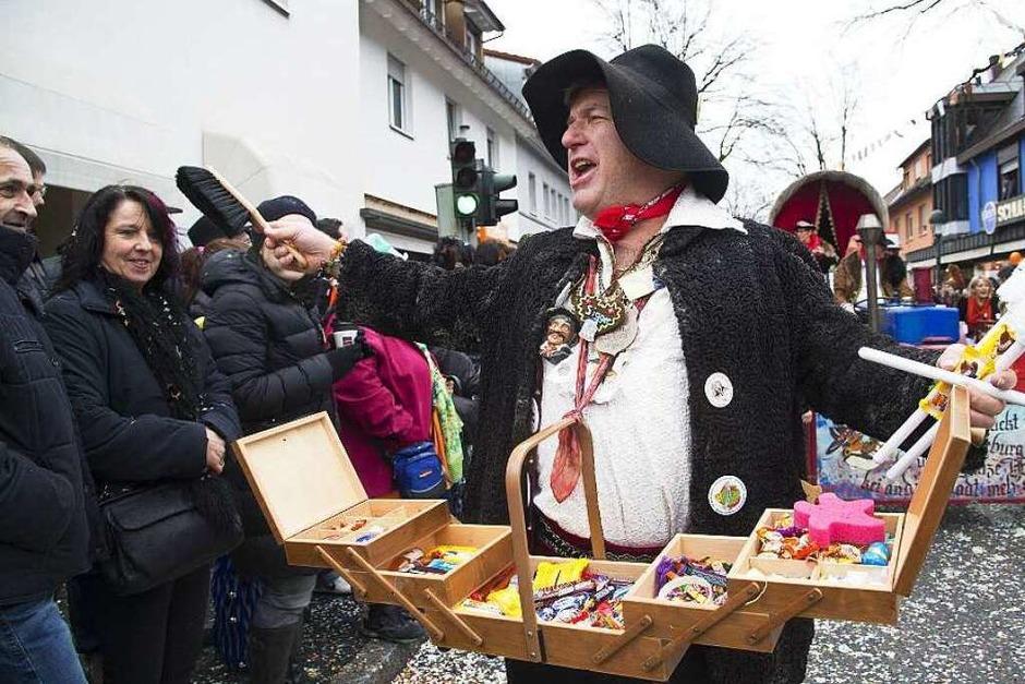 Zigeuner mit Bauchladen (Foto: Volker Münch)