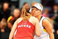 Deutsches Fedcup-Team verliert mit Angelique Kerber gegen die Schweiz
