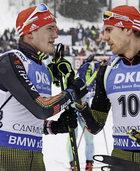 """""""Kampfhund"""" auf Ski und mit Gewehr"""