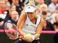 Kein zweites Tennis-M�rchen f�r Angelique Kerber