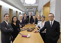 Das Ensemble Recherche spielt im Freiburger Morat-Institut