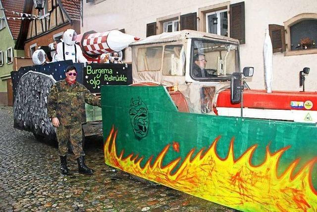 Fotos: Umzüge in Burkheim, Oberbergen und Achkarren