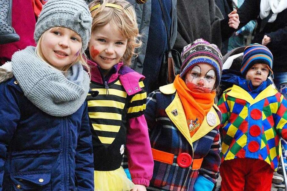 Impressionen vom Inzlinger Kinderumzug (Foto: Maja Tolsdorf)