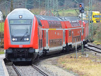 Sturmsch�den legen H�llental- und Dreiseenbahn lahm