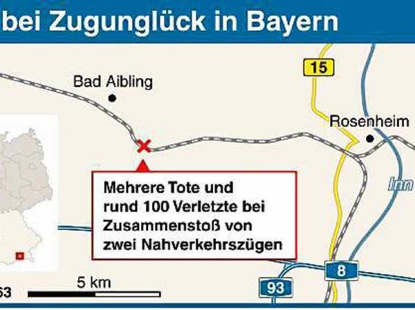 Zugdrama in Bayern