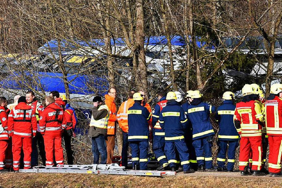 Zugdrama in Bayern (Foto: AFP)