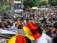 EM: Public Viewing erstmals auf Freiburger Messegel�nde
