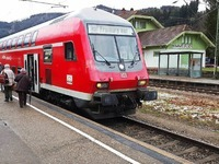 H�llentalbahn f�hrt ab Freitag wieder im Normalbetrieb