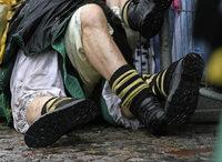 Mehr Regen und weniger Verletzte an Fasnet