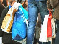 Gratis-Plastikt�ten sollen mehr und mehr verschwinden