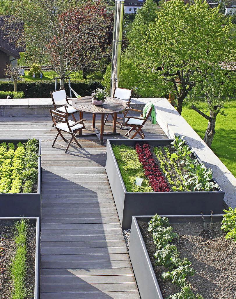 Garten Auf Der Dachterrasse