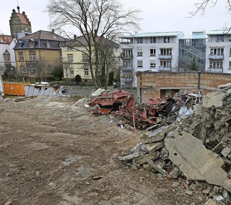 Die abgerissene Kapelle   | Foto: ingo schneider