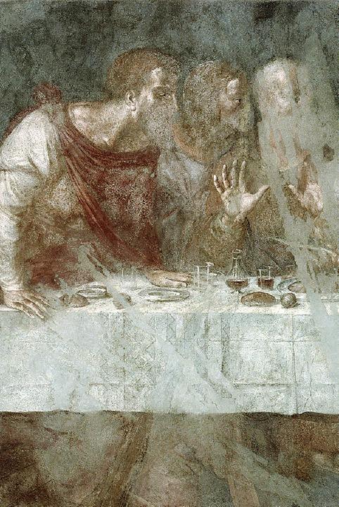 Das letzte Abendmahl von Simon und Joh...ndet sich nun im zentralen Kunstdepot.  | Foto: stiftungsverwaltung