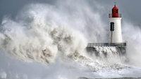 Orkan �ber Westeuropa