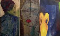 Werke von Ren�e Hansen, Ibo Rostert und Monika S�ther in Emmendingen