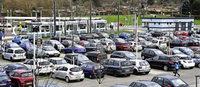 Park-and-Ride-Platz in Z�hringen st��t an seine Grenzen