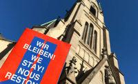 Kirchenasyl mit Fragezeichen
