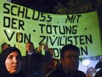 Zehn Kurden treten in dreit�gigen Hungerstreik