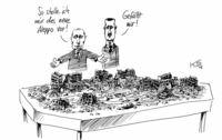 Moderne Stadtplanung (Modell Grosny)