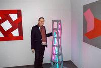 108 Werke konkret-konstruktiver Kunst sind in der Kunsthalle Messmer zu sehen