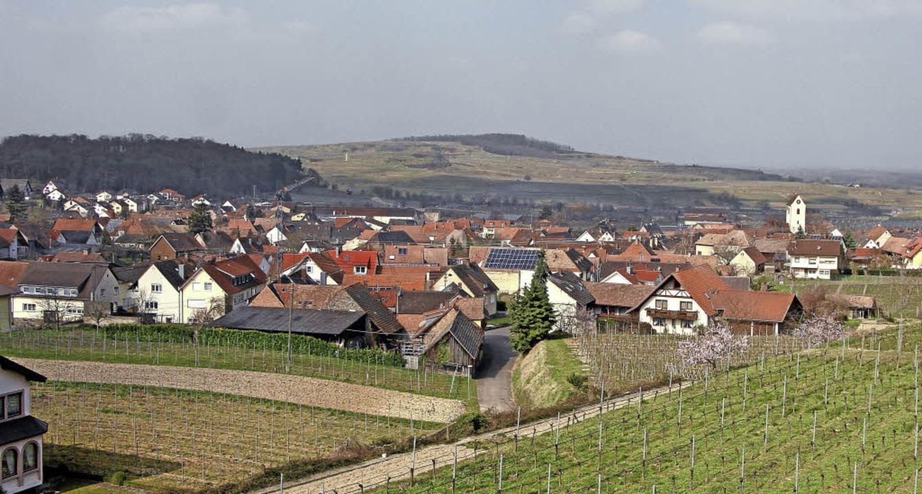 Bischoffingen ist heute stark vom Weinbau geprägt.  | Foto: Herbert Trogus