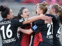 Frauen des SC Freiburg besiegen Potsdam mit 2:0