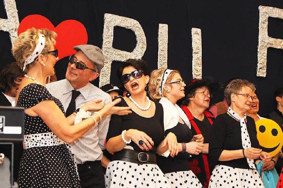 Der Gesangverein Hasel in Aktion (Foto: Anja Bertsch)