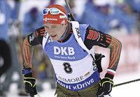 Schlussläufer Doll sichert deutschen Biathleten Platz drei