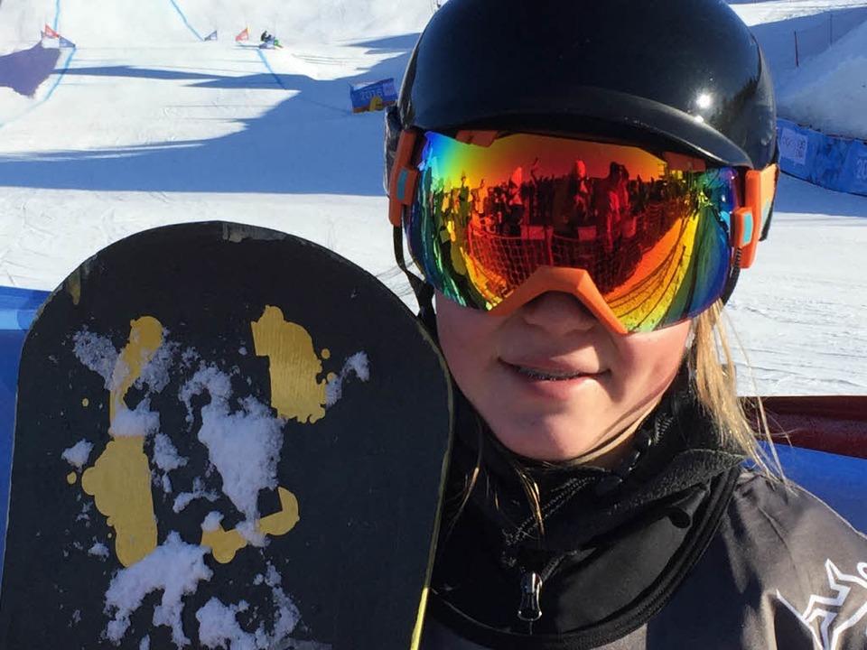 Famos in Lillehammer: Snowboardcrosser...r im Halbfinale kurz vor dem Ziel.      | Foto: DOSB/DPA PICTURE ALLIANCE
