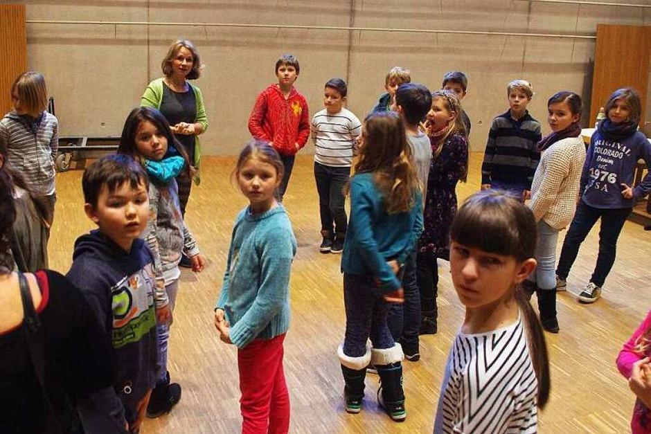 Der Tag beginnt im Konzertsaal des Ensemblehauses. (Foto: Sonja Zellmann)