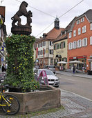 Oberkircher Hauptstra�e wird zur Fu�g�ngerzone