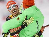 Weltcup-Sieg im Teamsprint für Fabian Rießle