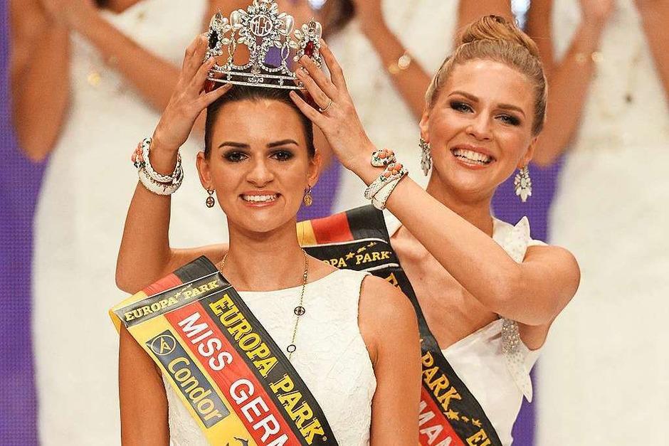 Die Miss Germany-Wahl 2016 im Europa-Park in Rust. (Foto: dpa)