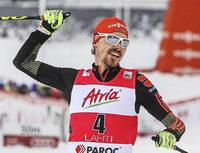 Fabian Rie�le Doppelsieger in Lahti