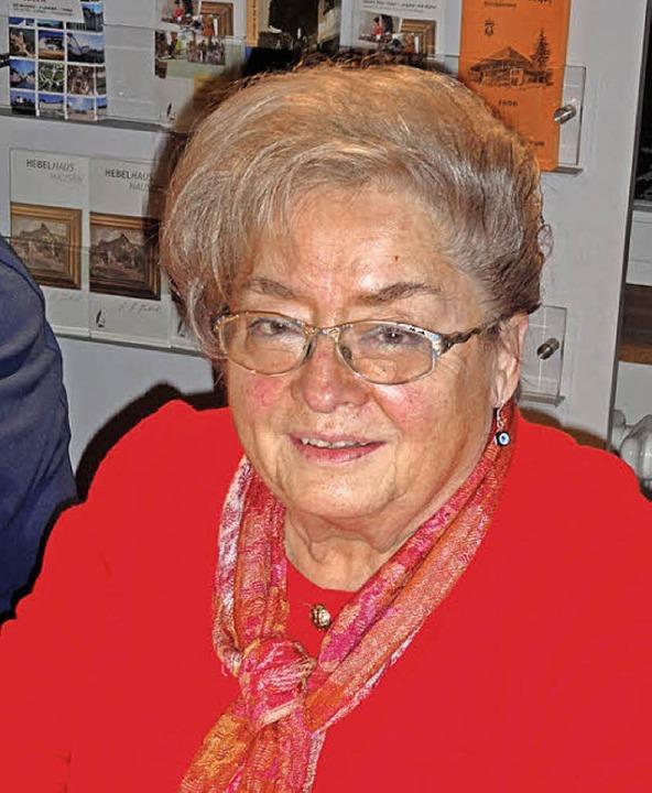Bei der Jahreshauptversammlung der Mue... las Ursula Sturm aus ihrem Schaffen.   | Foto: Klaus Brust