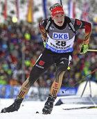 Biathlet Benedikt Doll �ber seine Medaillenchancen bei der WM