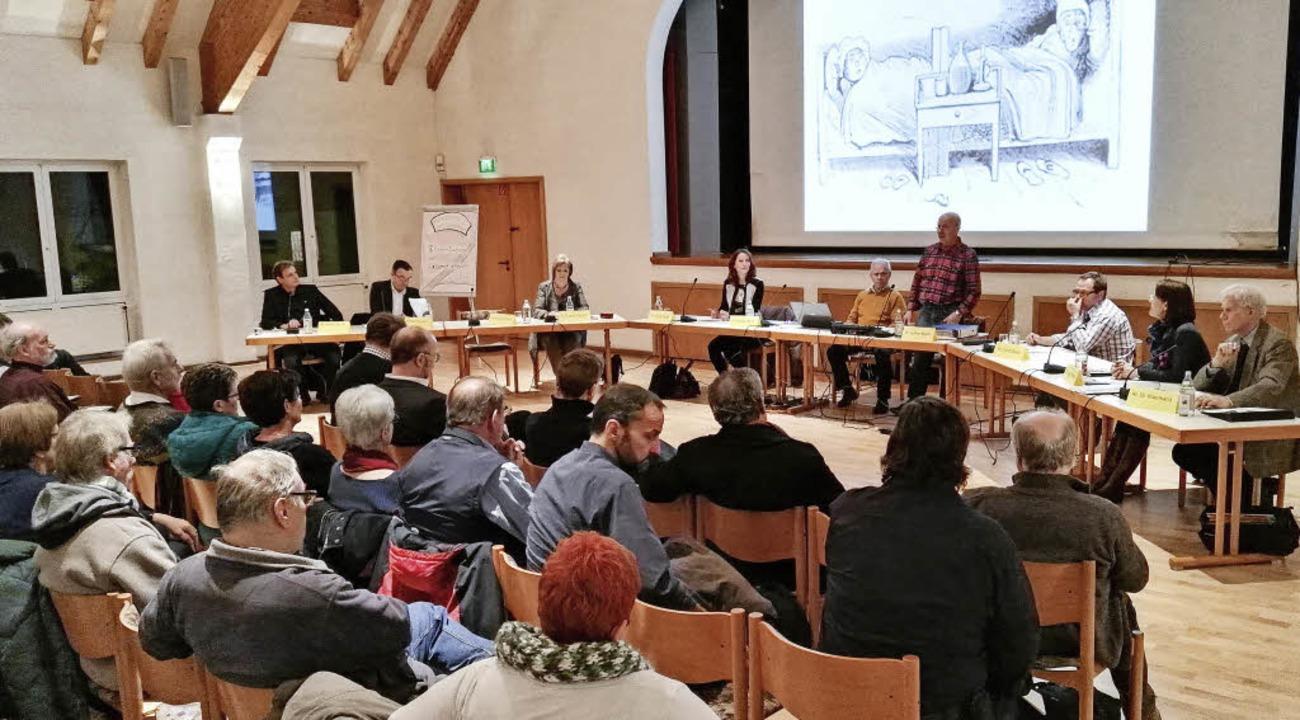 Infoabend zur Elektrifizierung der Kai...Dienstagabend ins Endinger Bürgerhaus.  | Foto: Martin Wendel