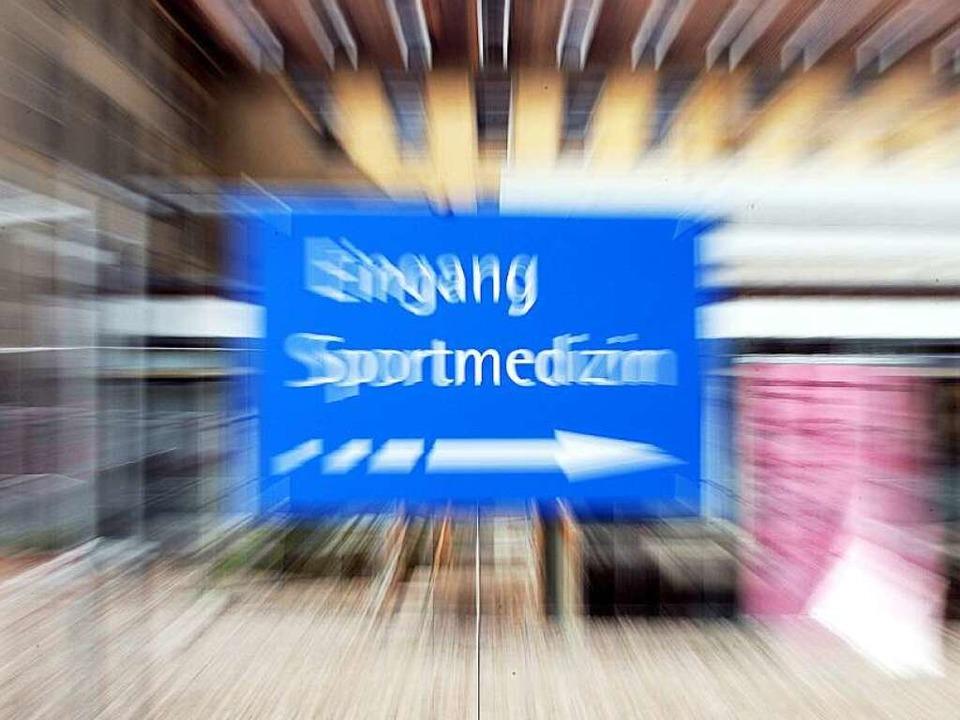 Seit neun Jahren kämpfen Anti-Doping-E...r Freiburger Sportmedizin zu erhellen.  | Foto: dpa