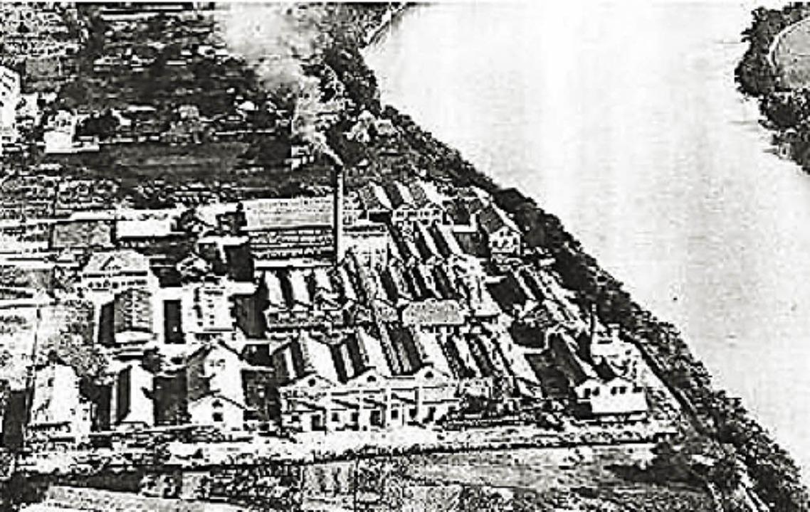 Aus der ersten Hälfte des 20. Jahrhund...nchemie,  wo heute  BASF ansässig ist.  | Foto: BASF